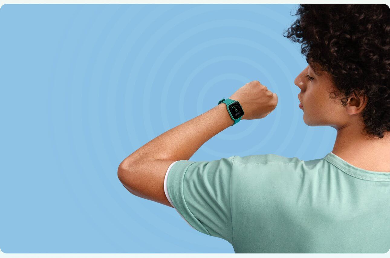 Amazfit Bip U stress monitoring