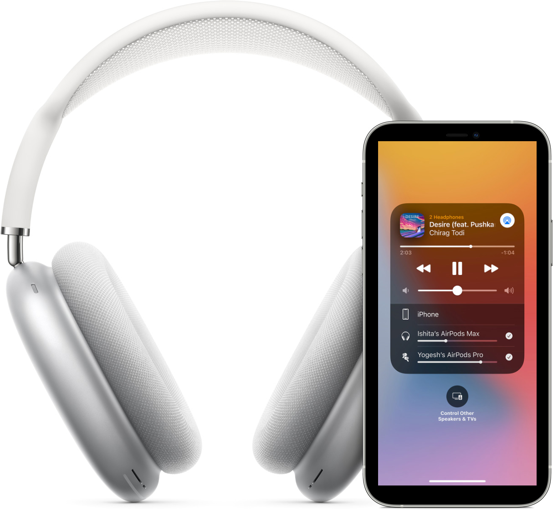 Airpods Max audio sharing