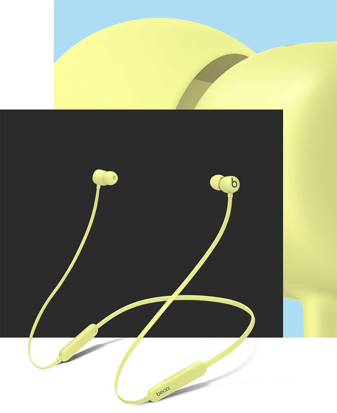 Beats Flex All Day Wireless Earphones yellow