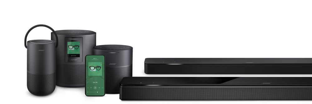 Bose Portable Home features