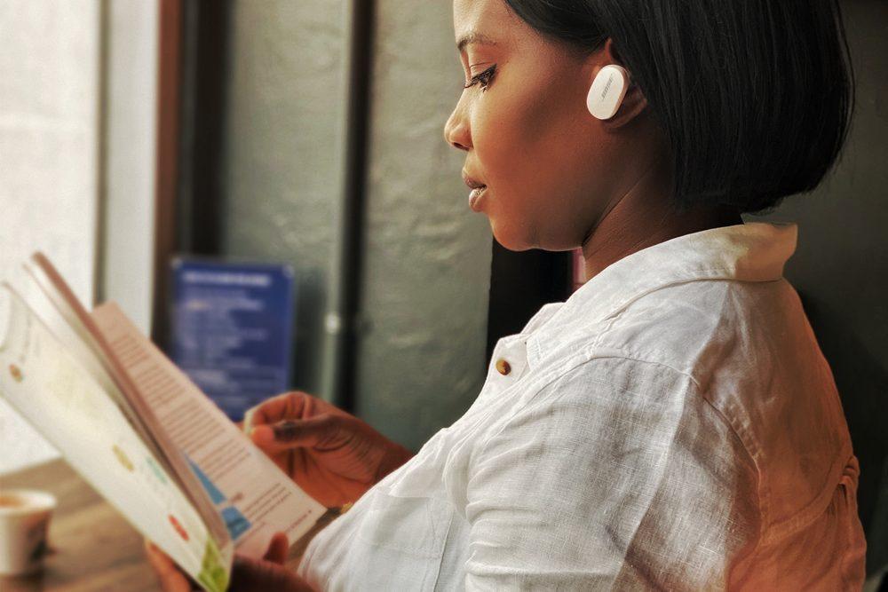 Bose Quietcomfort Earbuds adjustable Noise