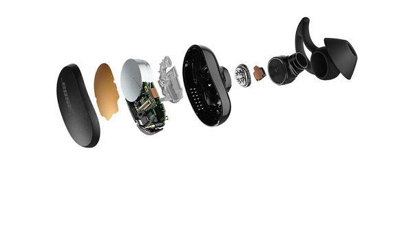 Bose Quietcomfort Earbuds Architech Design