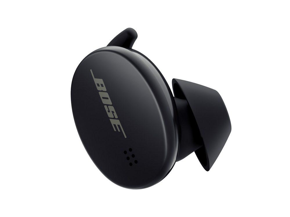 Bose Sports Earbuds fingertips