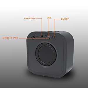 Conekt Sparkle Bluetooth Speaker battery