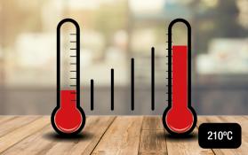 Havells Hair Straightener temperature
