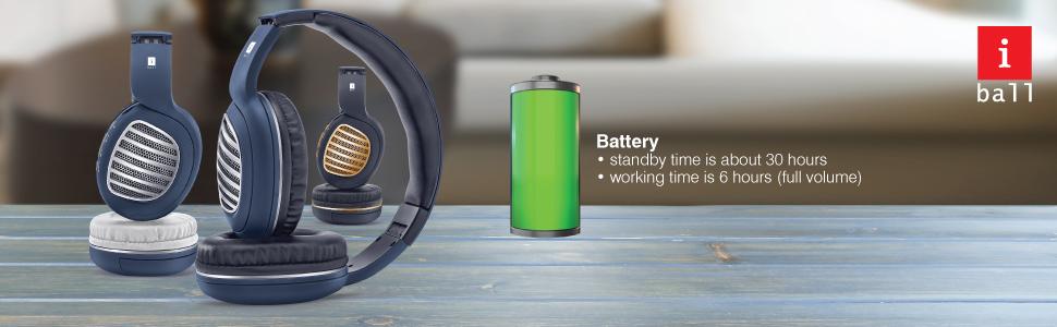 iBall Decibel BT01 Smart Headset battery