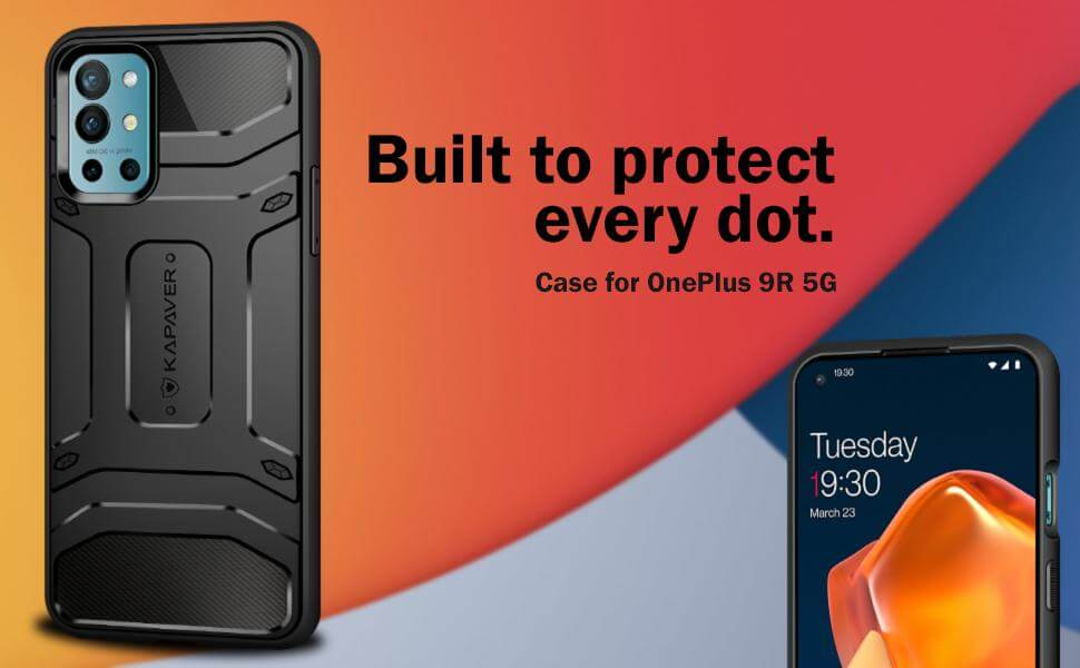 OnePlus 9R 5G backcase protection