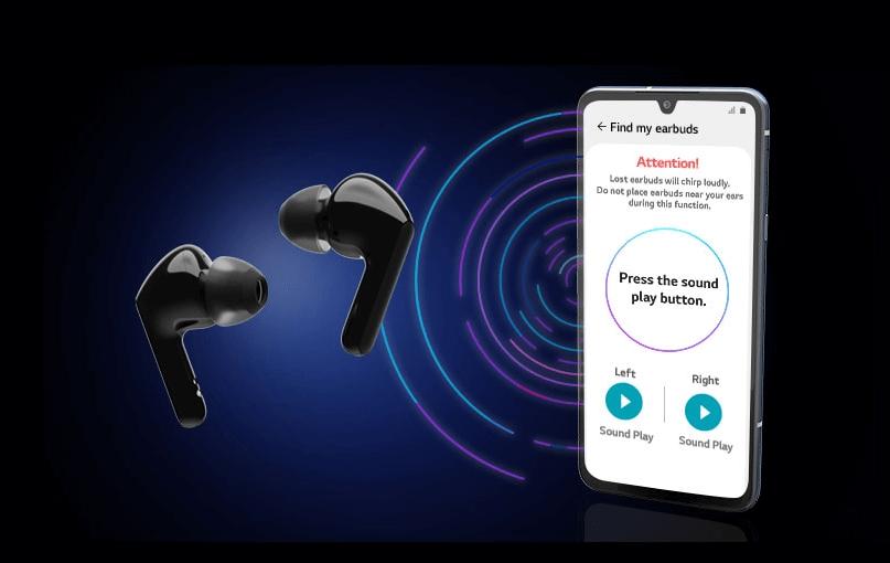 LG TONE Free HBS-FN5U True Wireless earbuds