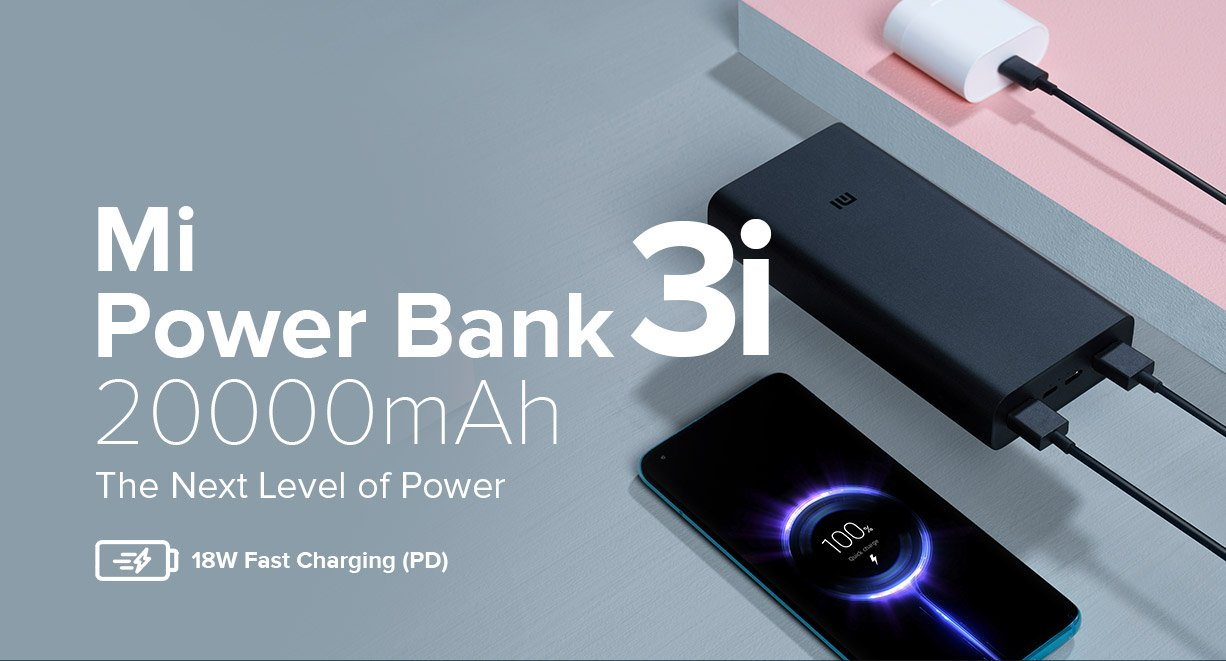 MI powerbank 3i 20000 mah