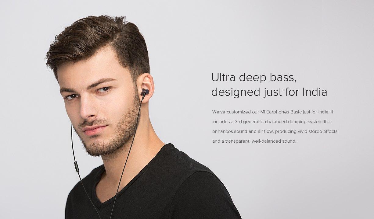 Mi Basic Earphone ultra deep bass