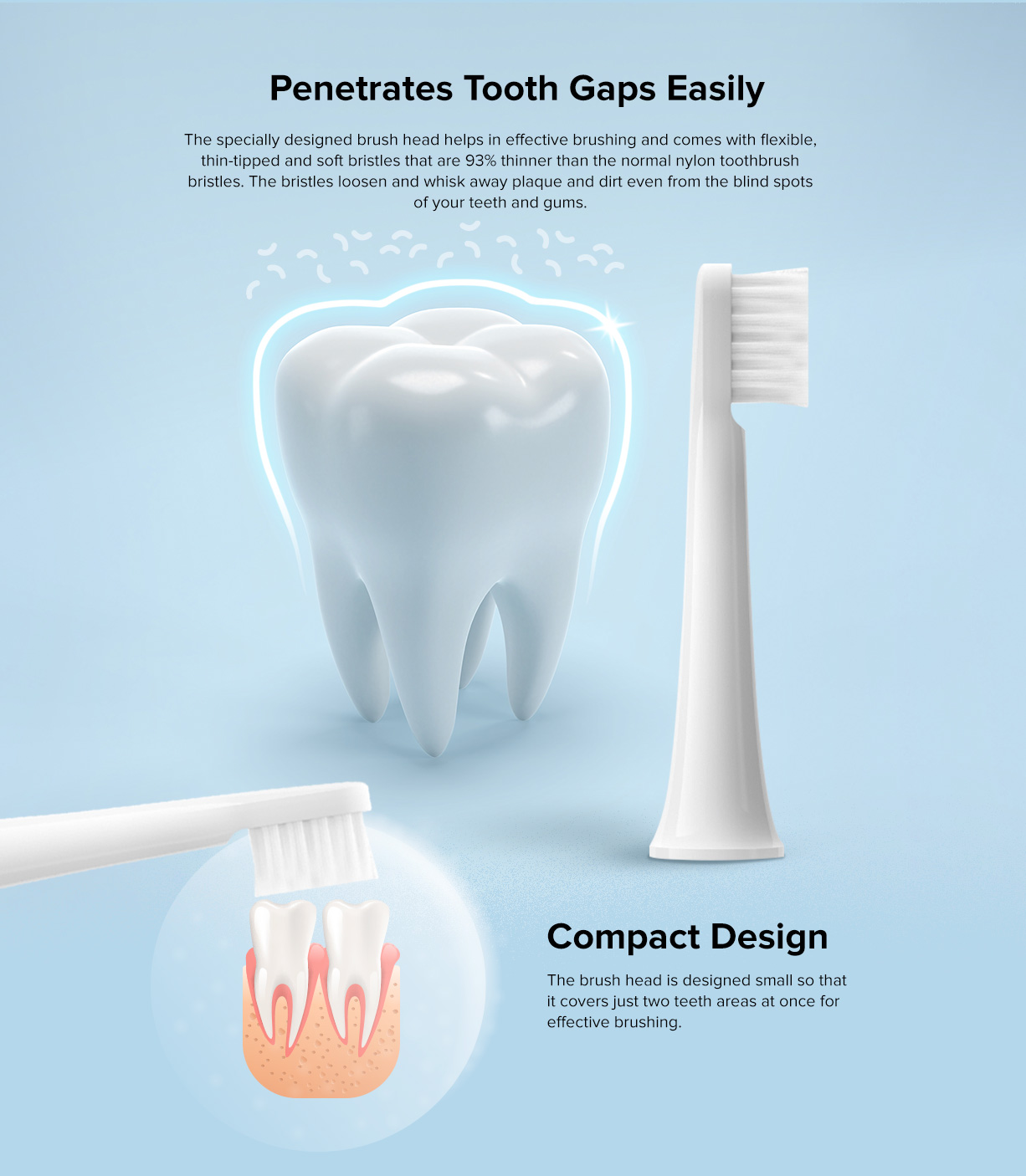 Mi-electric-toothbrush-T100-head-compact-design