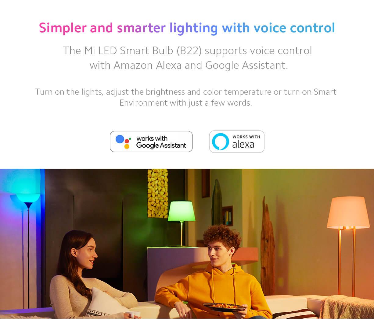 Mi LED Voice control