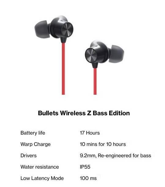 OnePlus Bullets Wireless Z base edition
