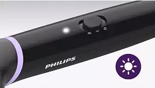 philips BHH88010 hair straightener Indicator light