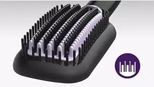 philips BHH88010 hair straightener Triple bristle design
