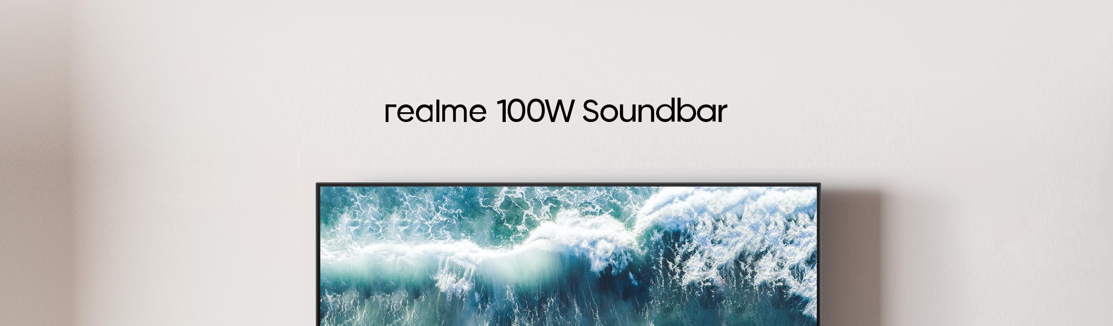 realme 100w soundbar