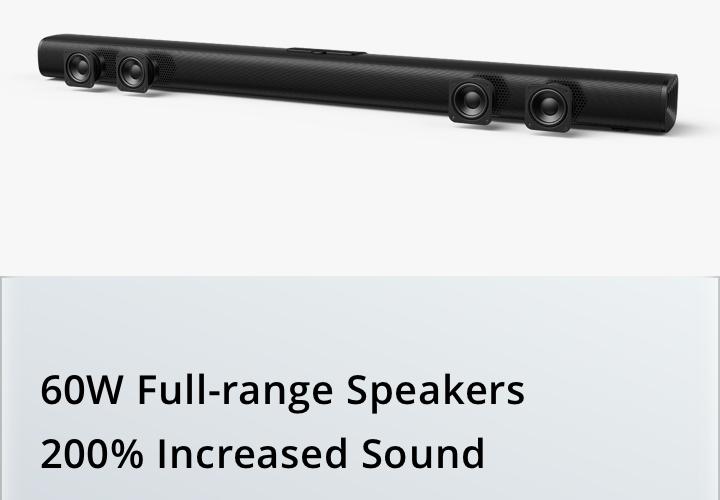 realme soundbar 60w
