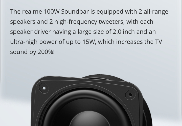 realme soundbar frequency