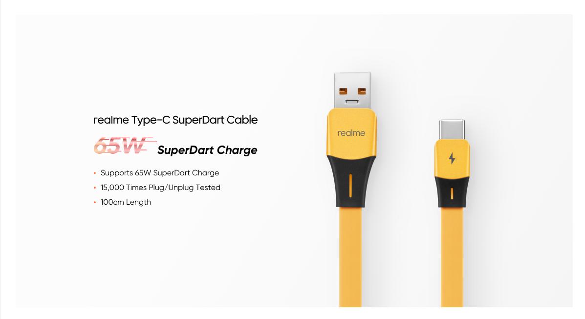Realme Type C SuperDart Cable