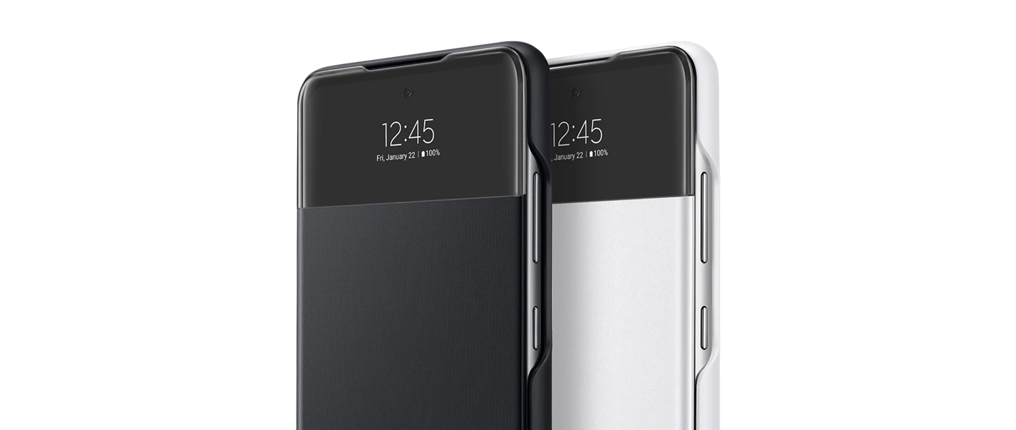 Galaxy A52 Smart S View Wallet Cover