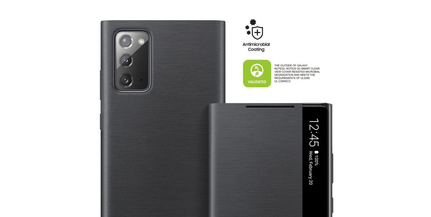 Galaxy Note20 Clear View Cover