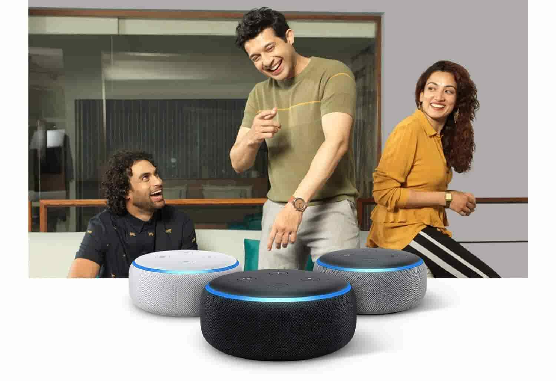 Amazon Echo Dot-3rdGen ccolors