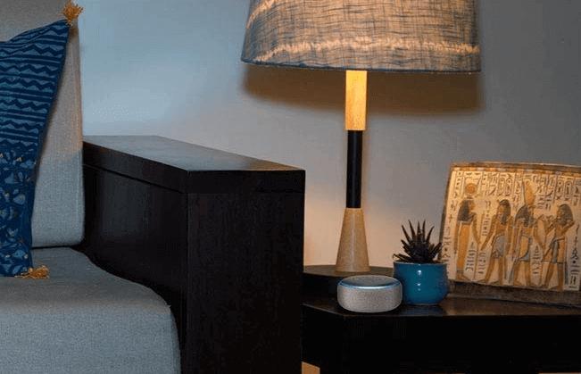 Amazon Echo Dot-3rdGen voice control