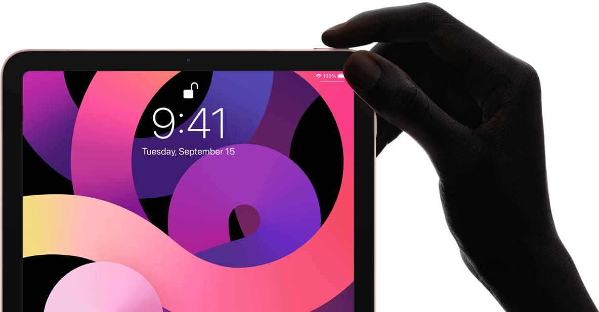 Apple IPad Air 10.9 Inch features touch id