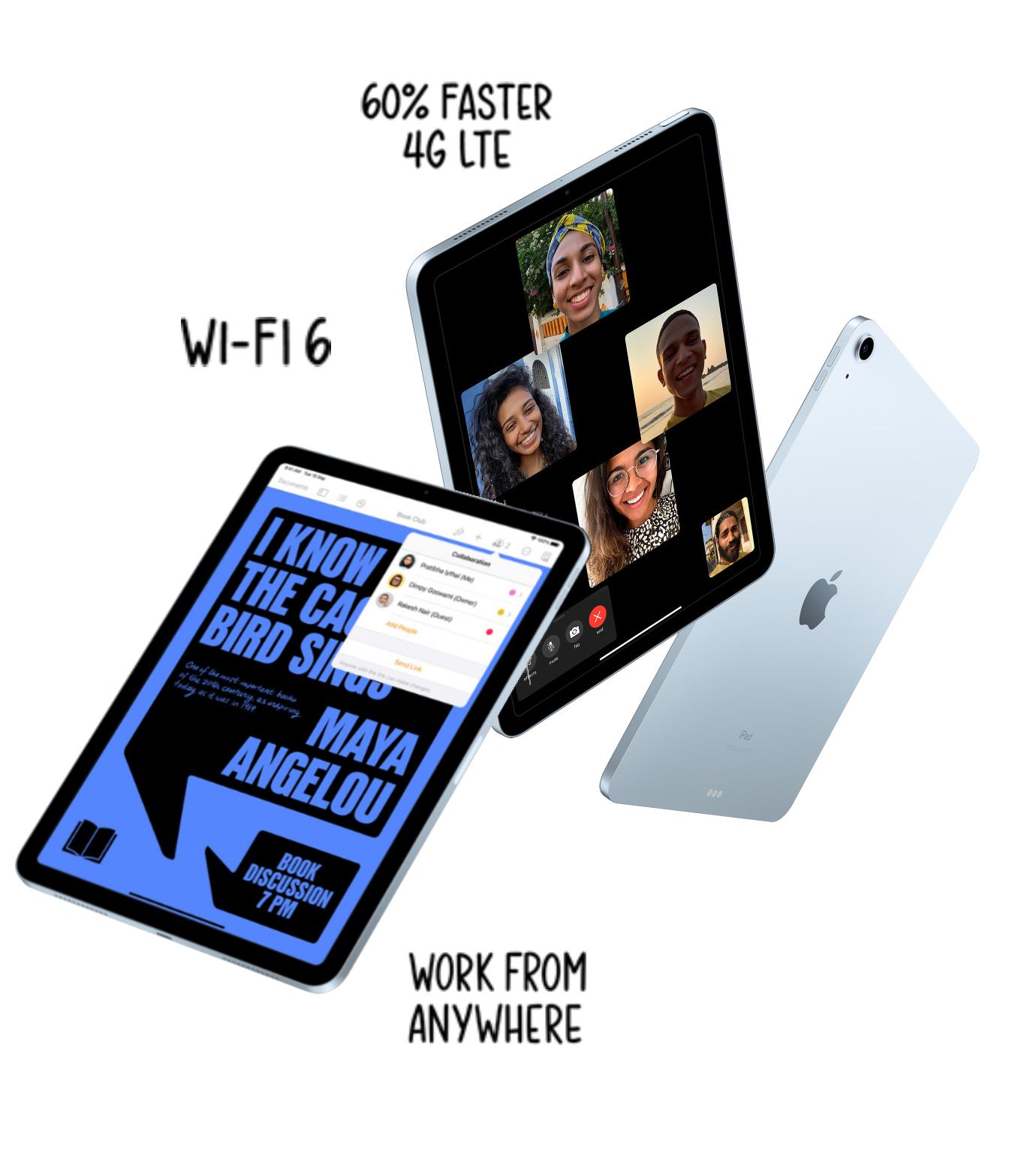 Apple IPad Air 10.9 Inch features Magic Keyboard