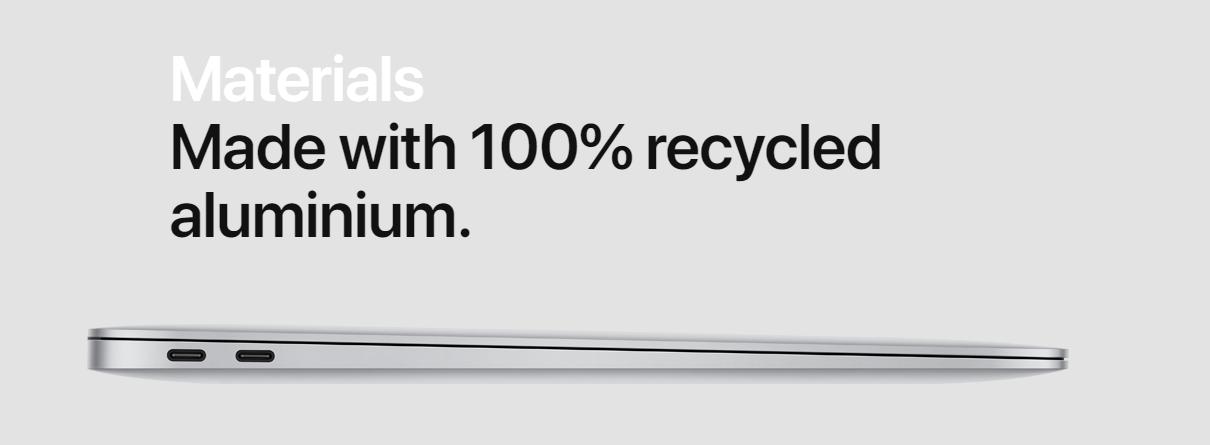 apple macbook air specs