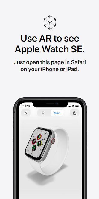 apple smart watch se specifications
