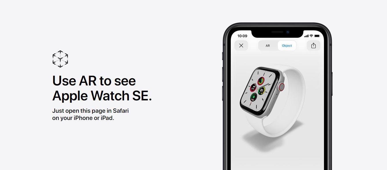 apple se smart watch features