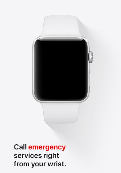 Apple Watch Series 3 GPS Specification