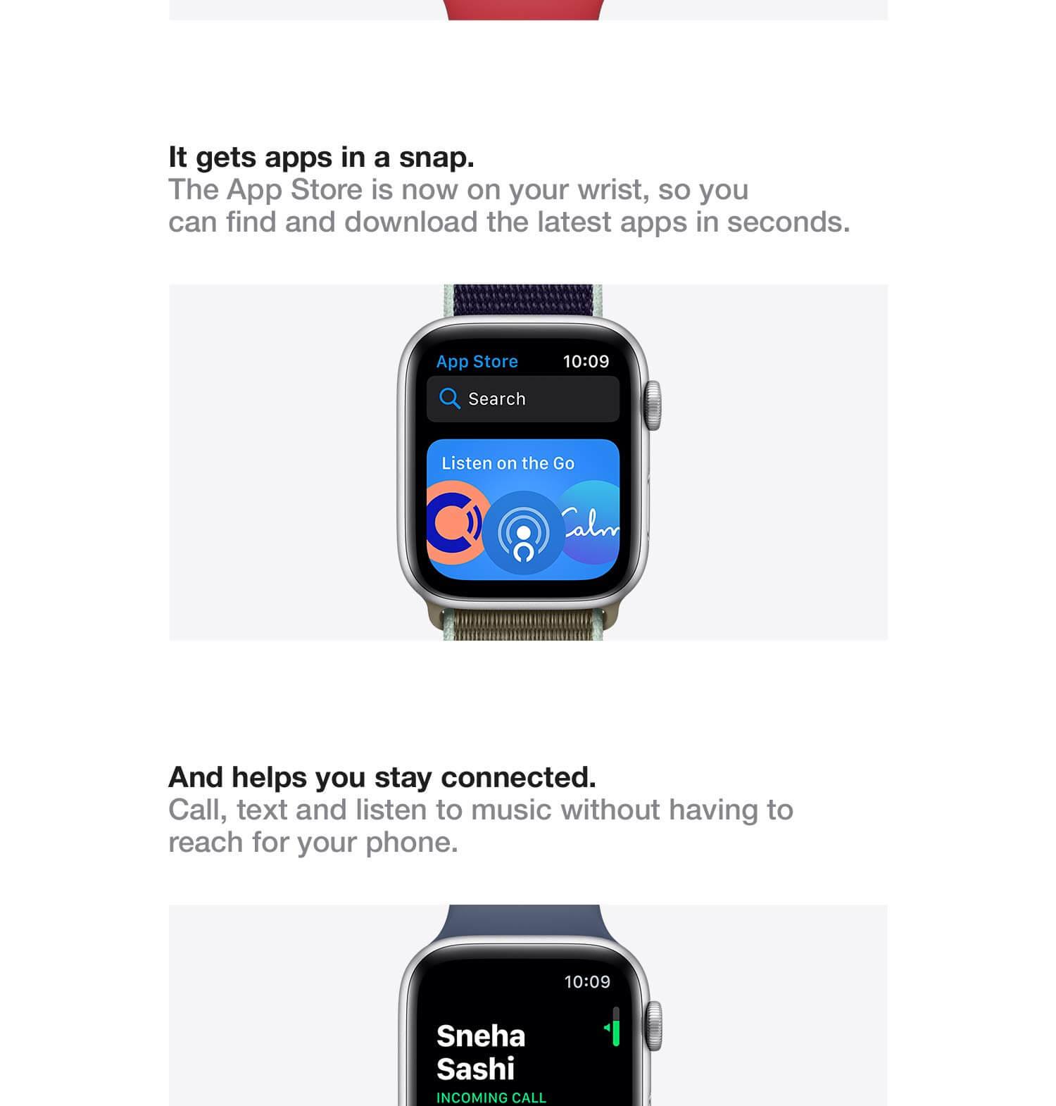 Apple watch series 5 specs