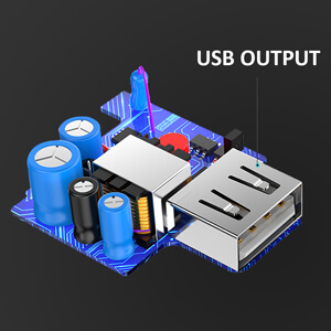 Conekt Dash Solo Adapter USB output