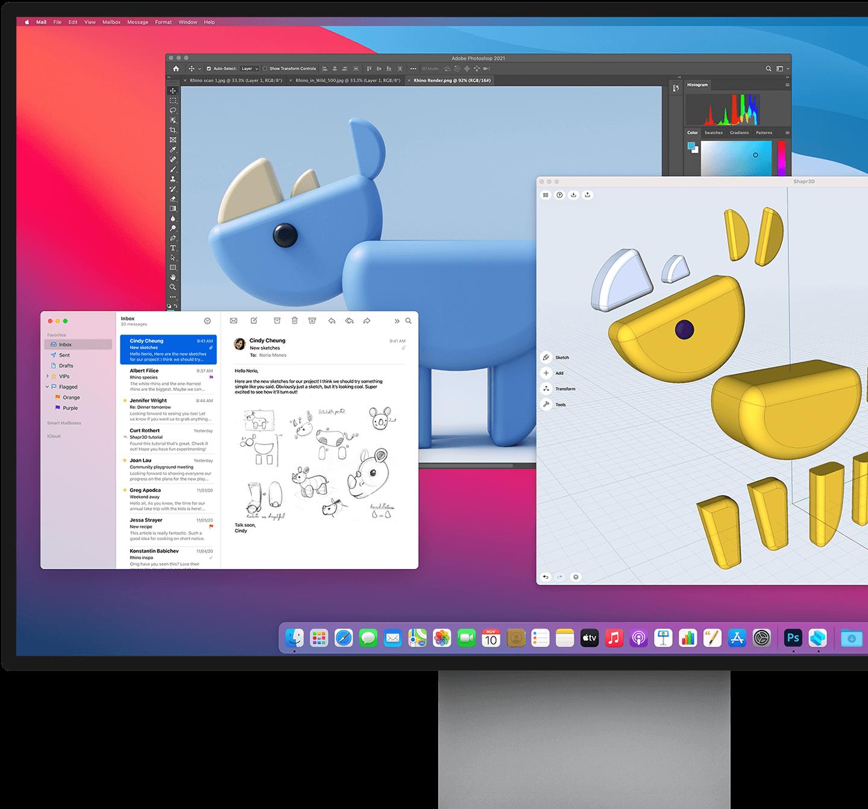 Apple Mac mini M1 chip macos