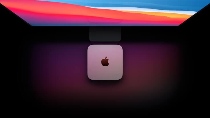 Apple Mac mini M1 chip