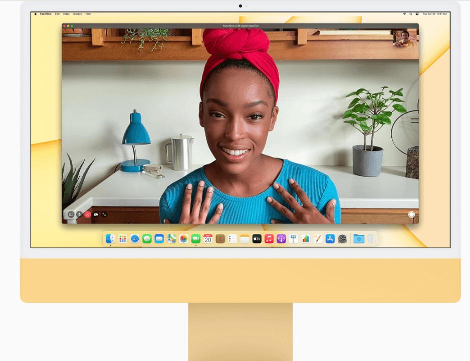 Apple iMac Retina 4.5K display camera
