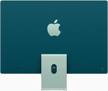 Apple iMac Retina 4.5K display color back green