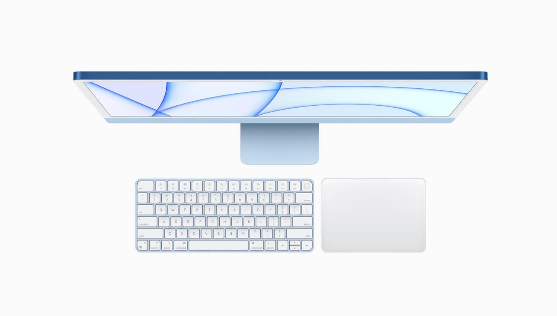 Apple iMac Retina 4.5K display colors hero