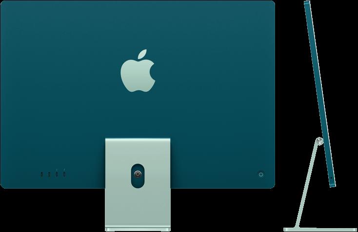 Apple iMac Retina 4.5K display environment