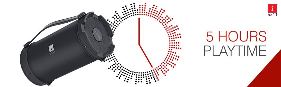iball music barrel price