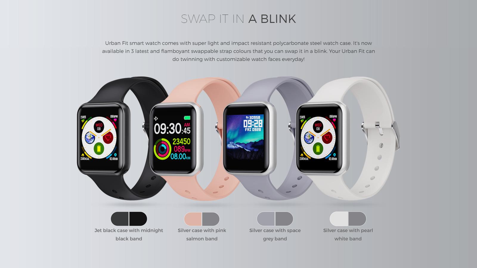 Urban Fit smartwatch
