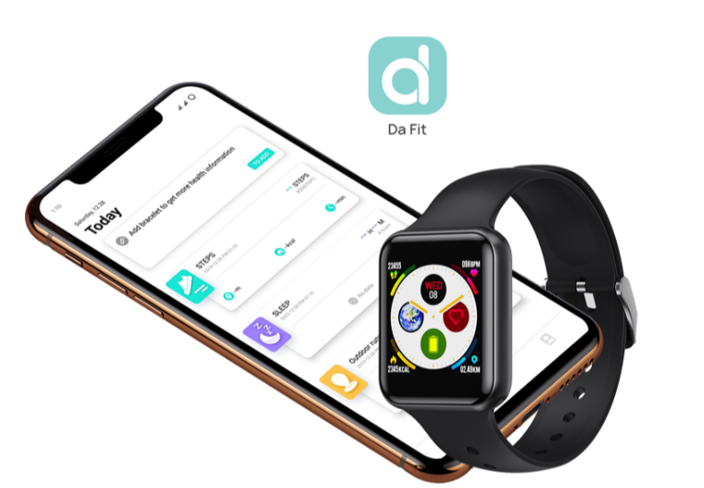 Urban Fit smartwatch features