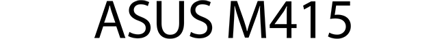 Asus M415 logo