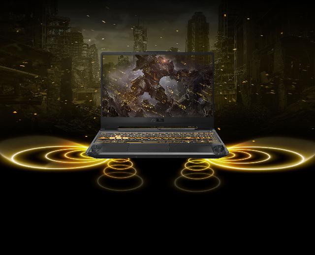 Asus tuf gaming laptop audio