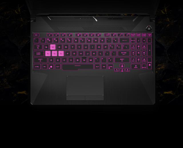 Asus tuf gaming laptop keyboard