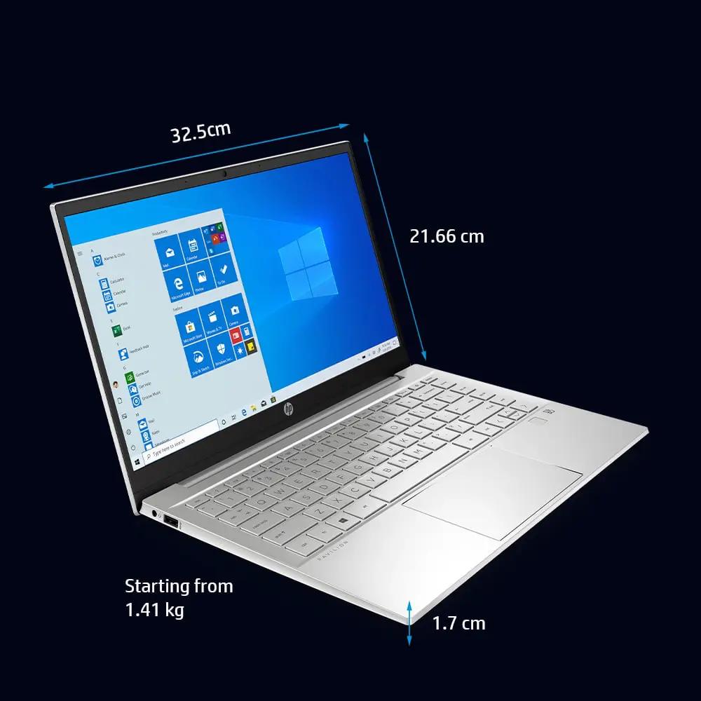 hp laptop intel core features