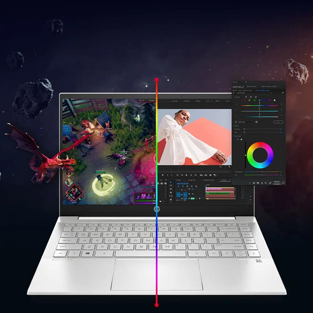 hp laptop intel core graphics