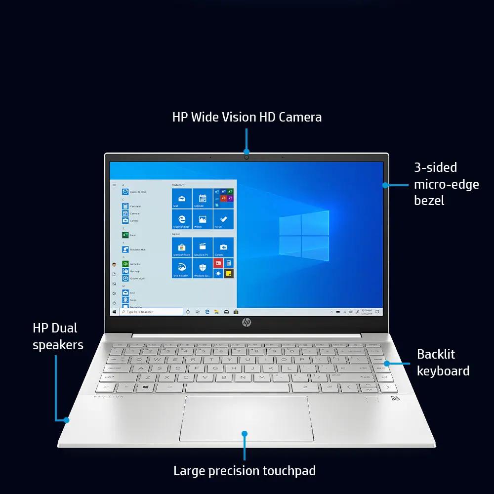 hp laptop intel core specs